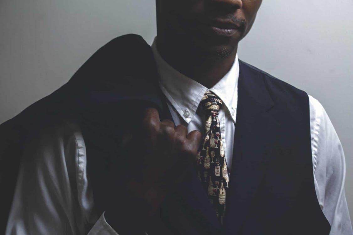černoch, človek, detailný záber