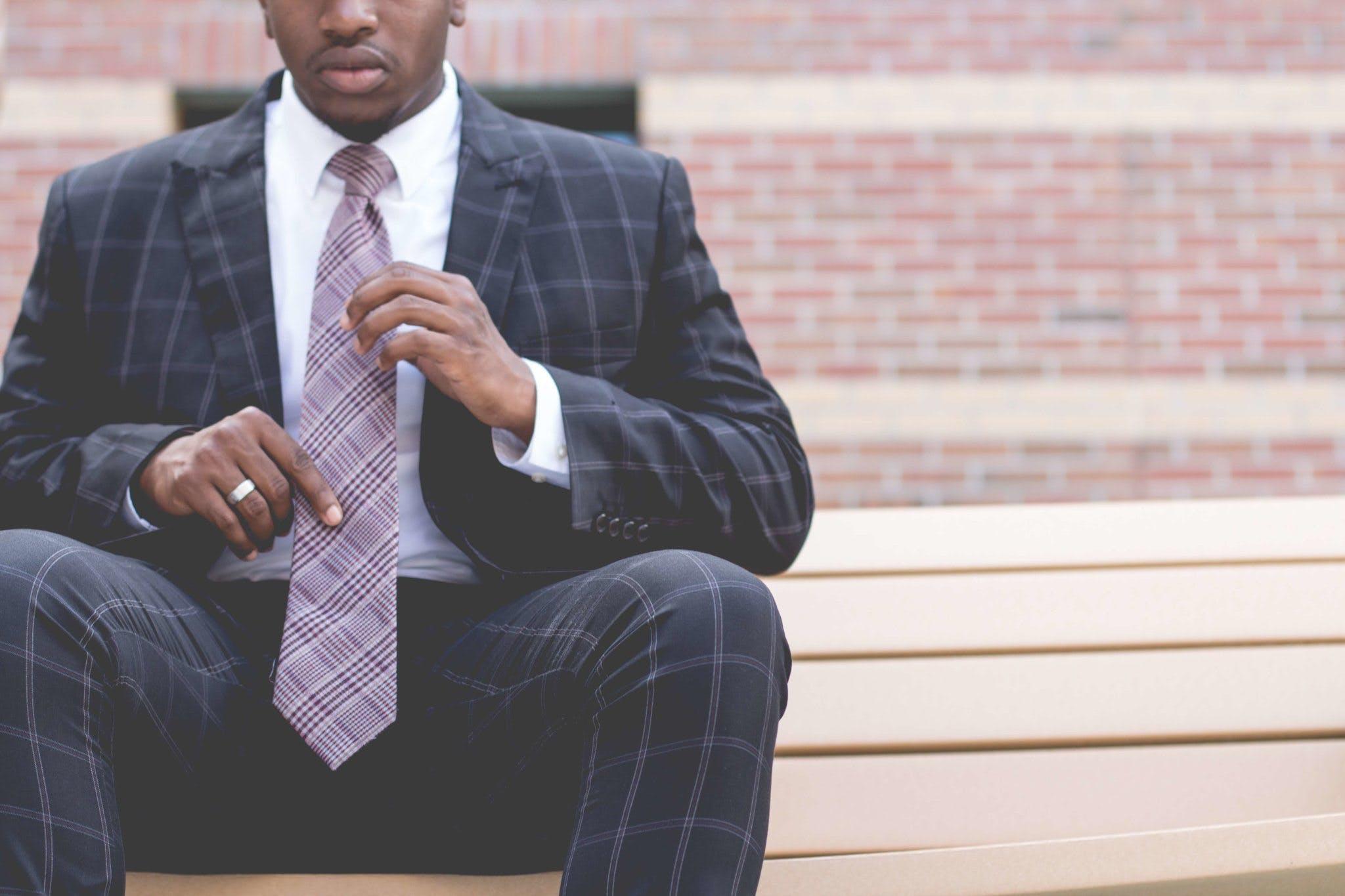 Men's Plaid Suit and Pants