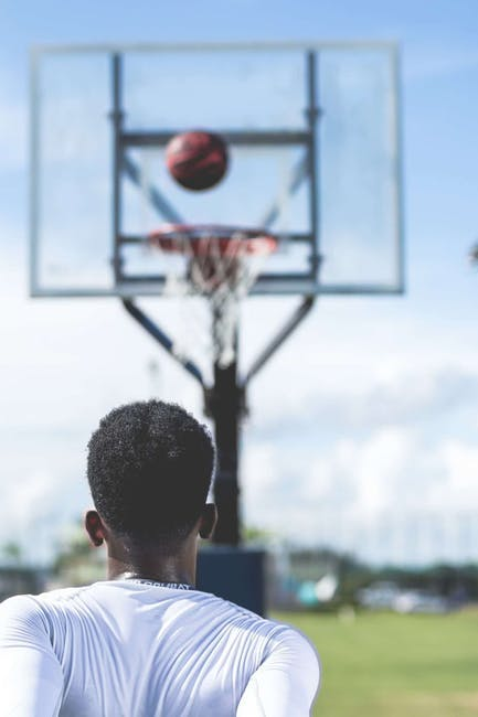 athlete, ball, basketball