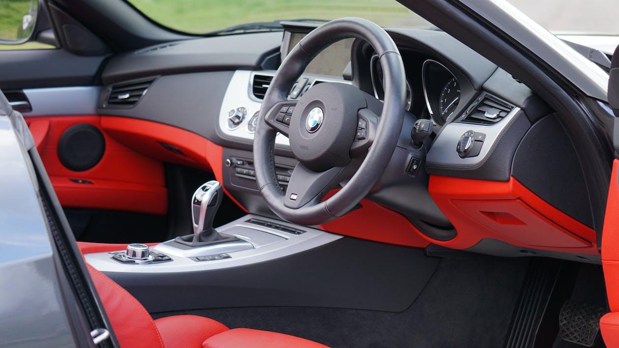 BMW Z4, автомобиль, интерьер автомобиля