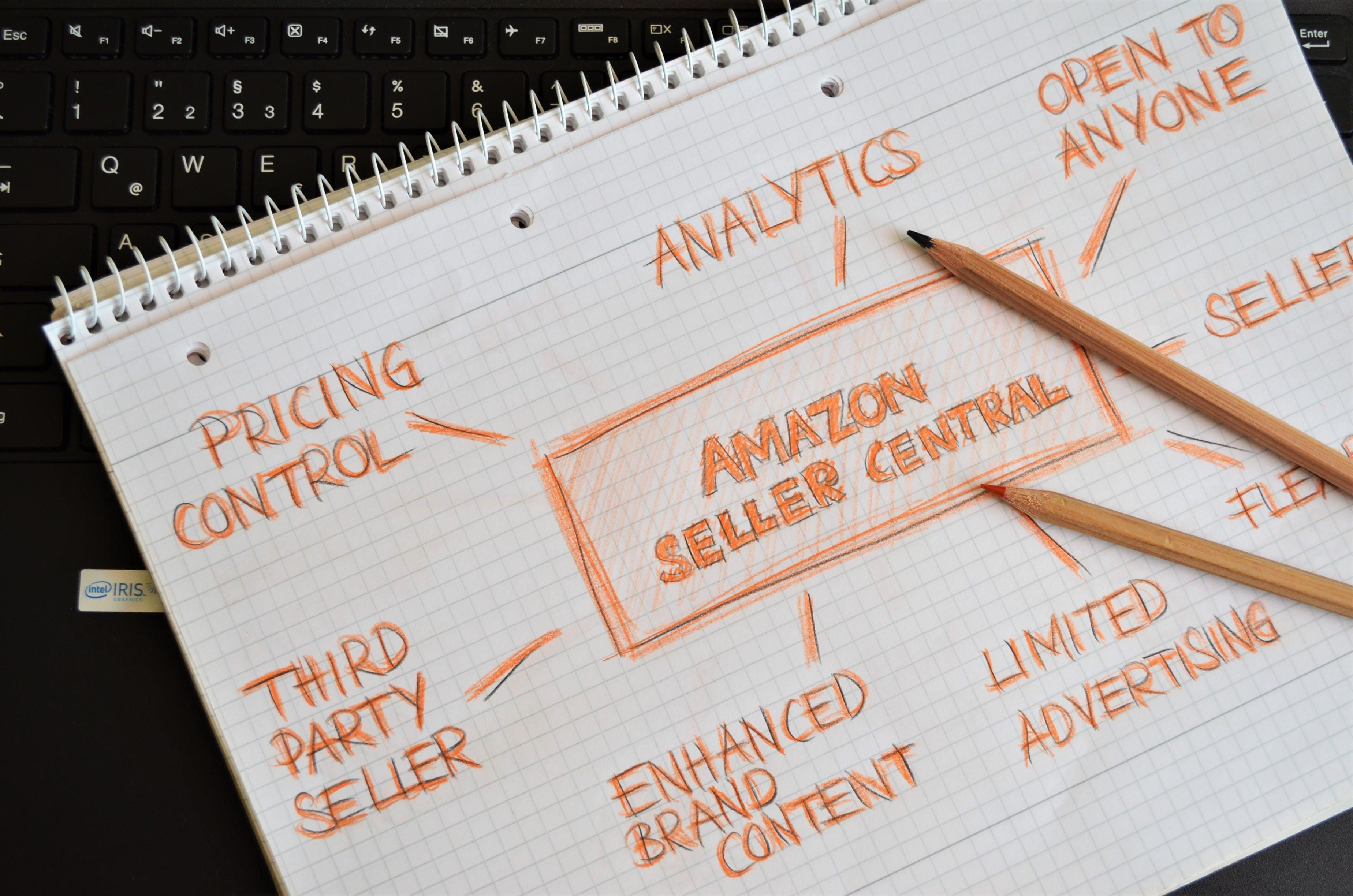 Free stock photo of amazon, analytics, digital marketing, laptop