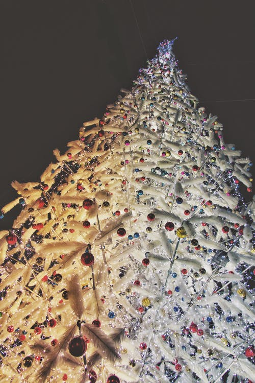 Free stock photo of christmas, christmas balls, christmas lights, cold
