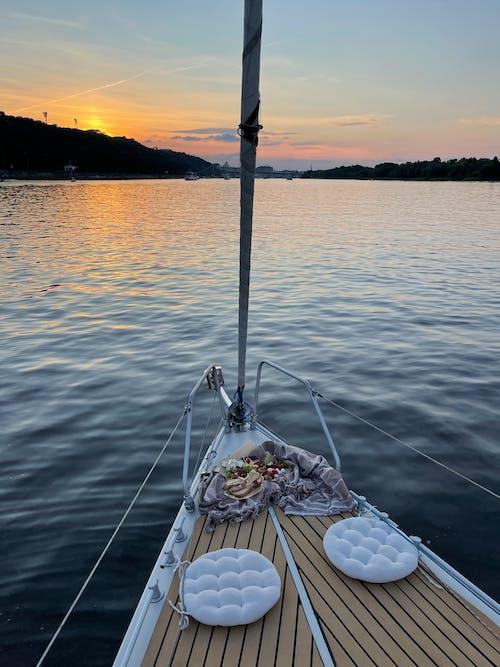 Ảnh lưu trữ miễn phí về bến tàu, biển, bình minh