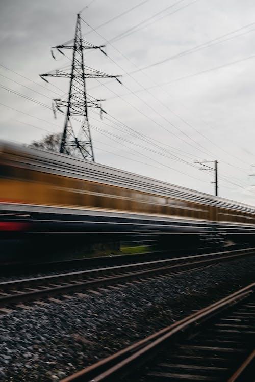 Photos gratuites de acier, balustrades, chemin de fer