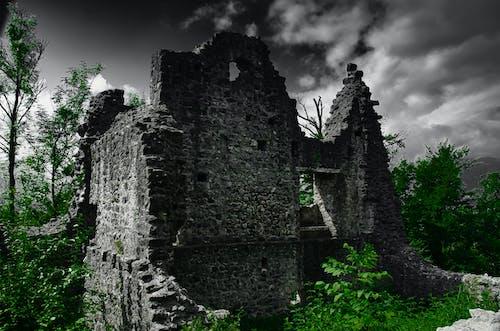 Free stock photo of architecture, castle, demolished