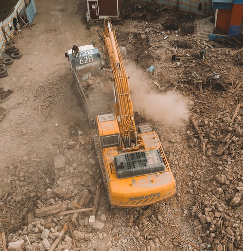 A Heavy Equipment Used In Excavation