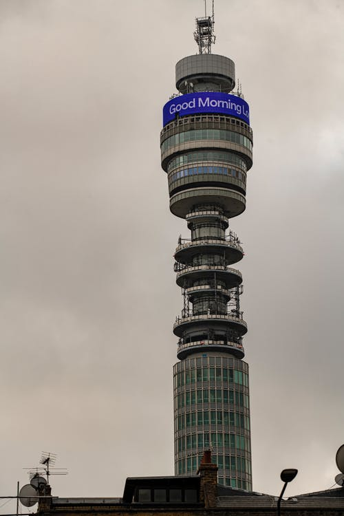 Free stock photo of architecture, bt tower, tall buildings