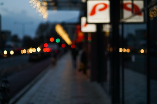 Free stock photo of lights, night, lens, blur