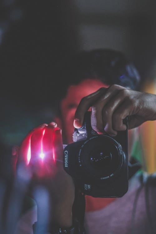 คลังภาพถ่ายฟรี ของ DSLR, กล้อง, การถ่ายรูป, คน