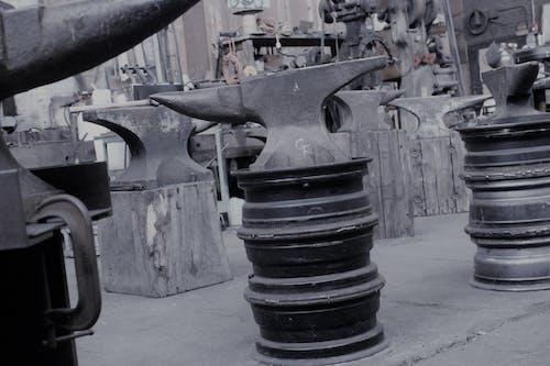 Free stock photo of anvil, black and white, blacksmith
