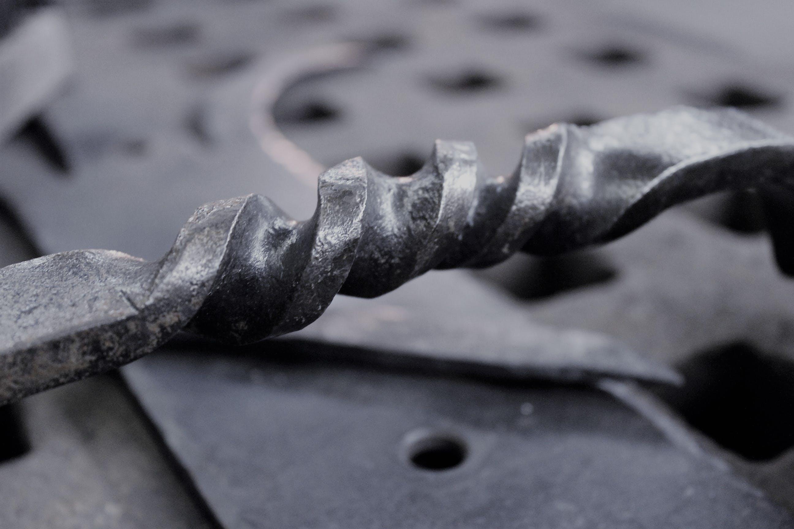 Free stock photo of black and white, blacksmith, metal, metal art