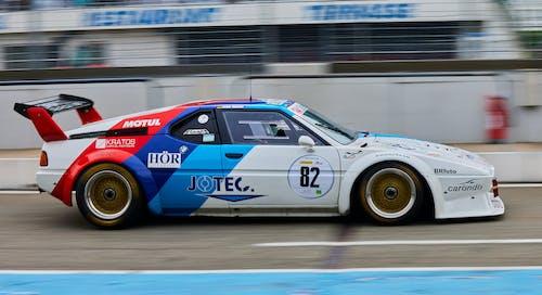 A Race Car on the Track