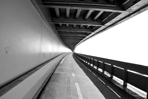 Kostnadsfri bild av betong, körfält, kurva, lång