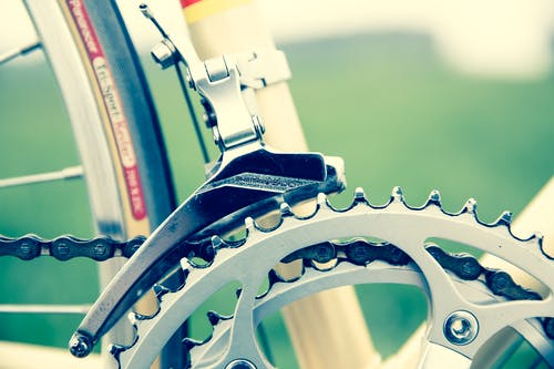 Free stock photo of bicycle, bike, chainrings, close-up