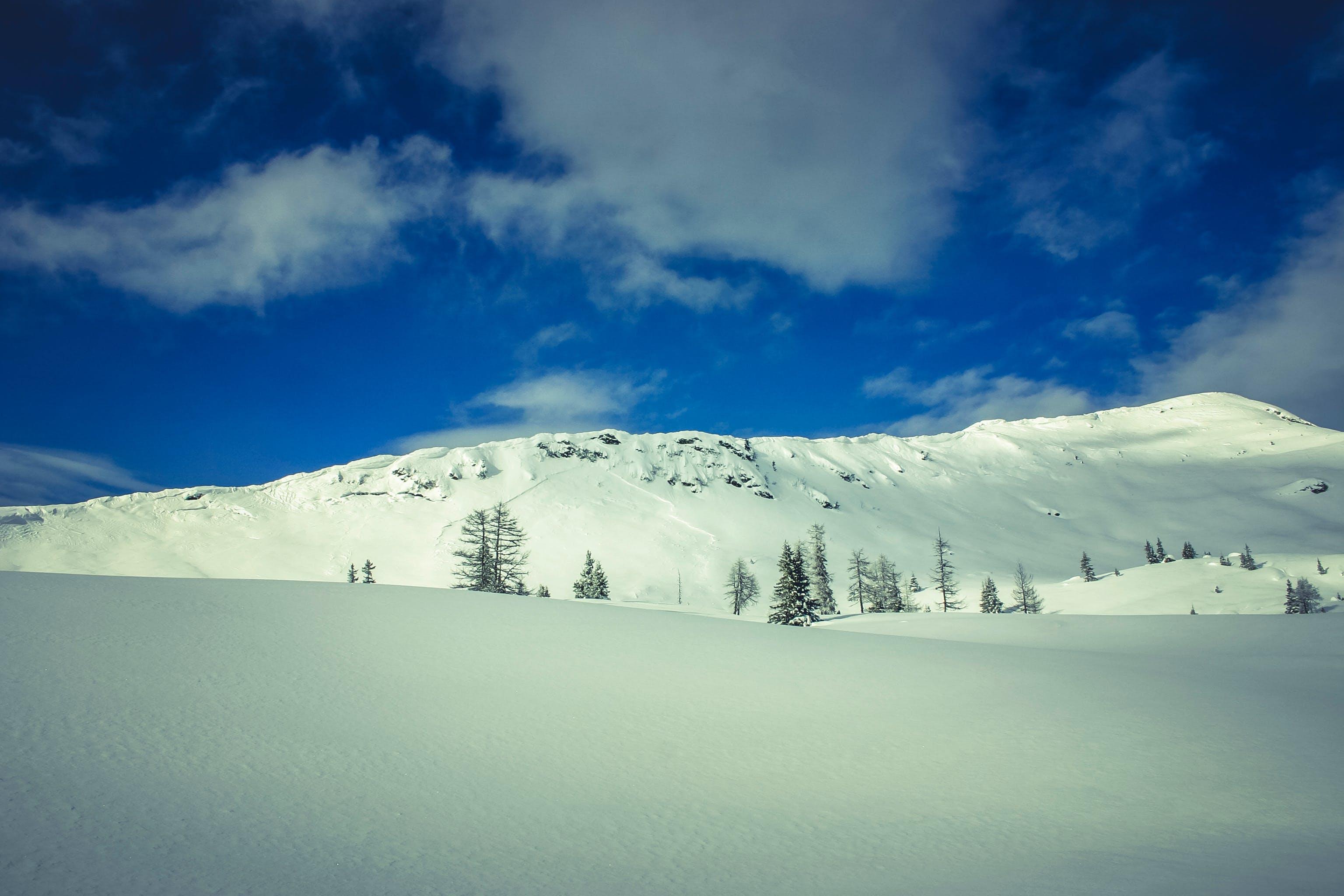 Darmowe zdjęcie z galerii z chmury, drzewa, góra, niebo