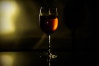 drink, wine, beverage