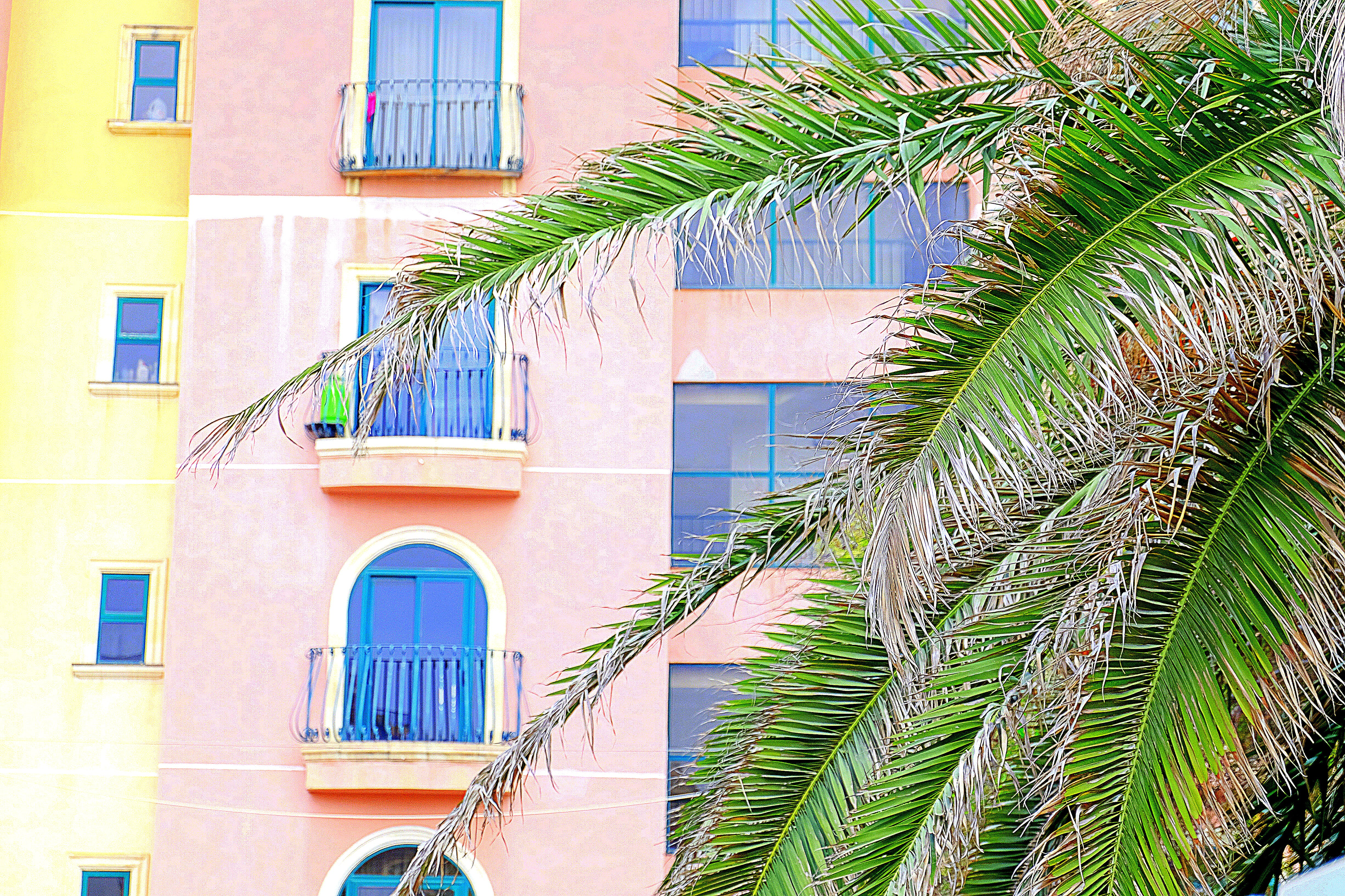 Free stock photo of colorful, escape, holiday, house