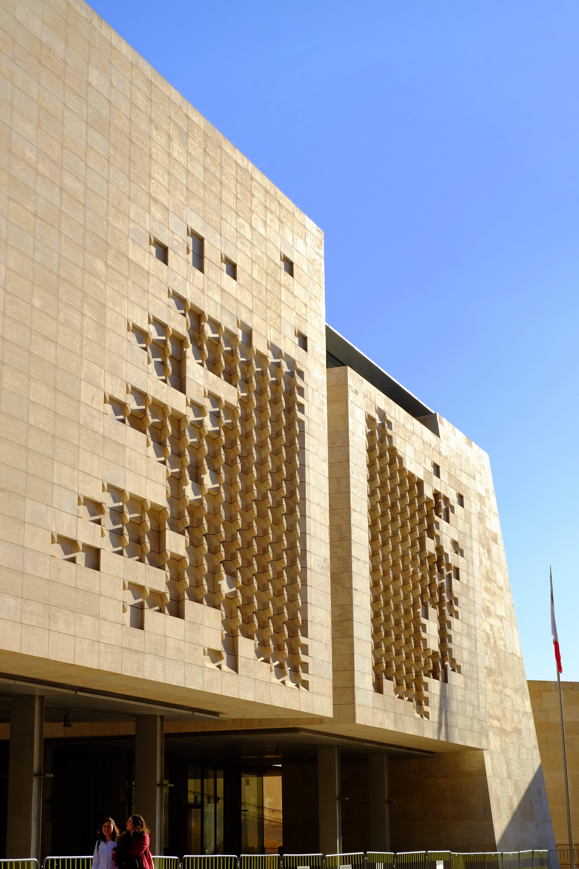 Free stock photo of architectural design, architecture, blue, building