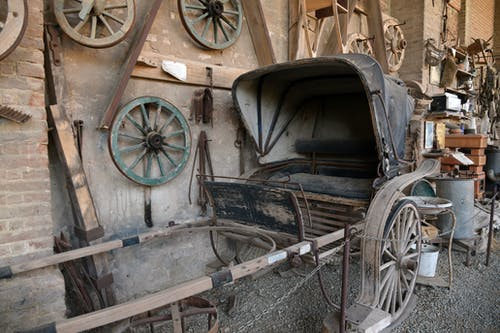 Old Horse Drawn Carriage