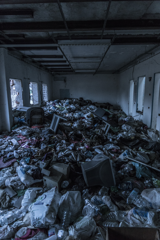 Garbage Inside a Room