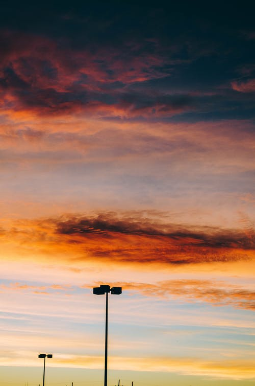Free stock photo of beautiful sky, clouds, colorful