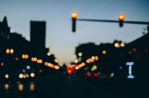 Free stock photo of bokeh, lights, street