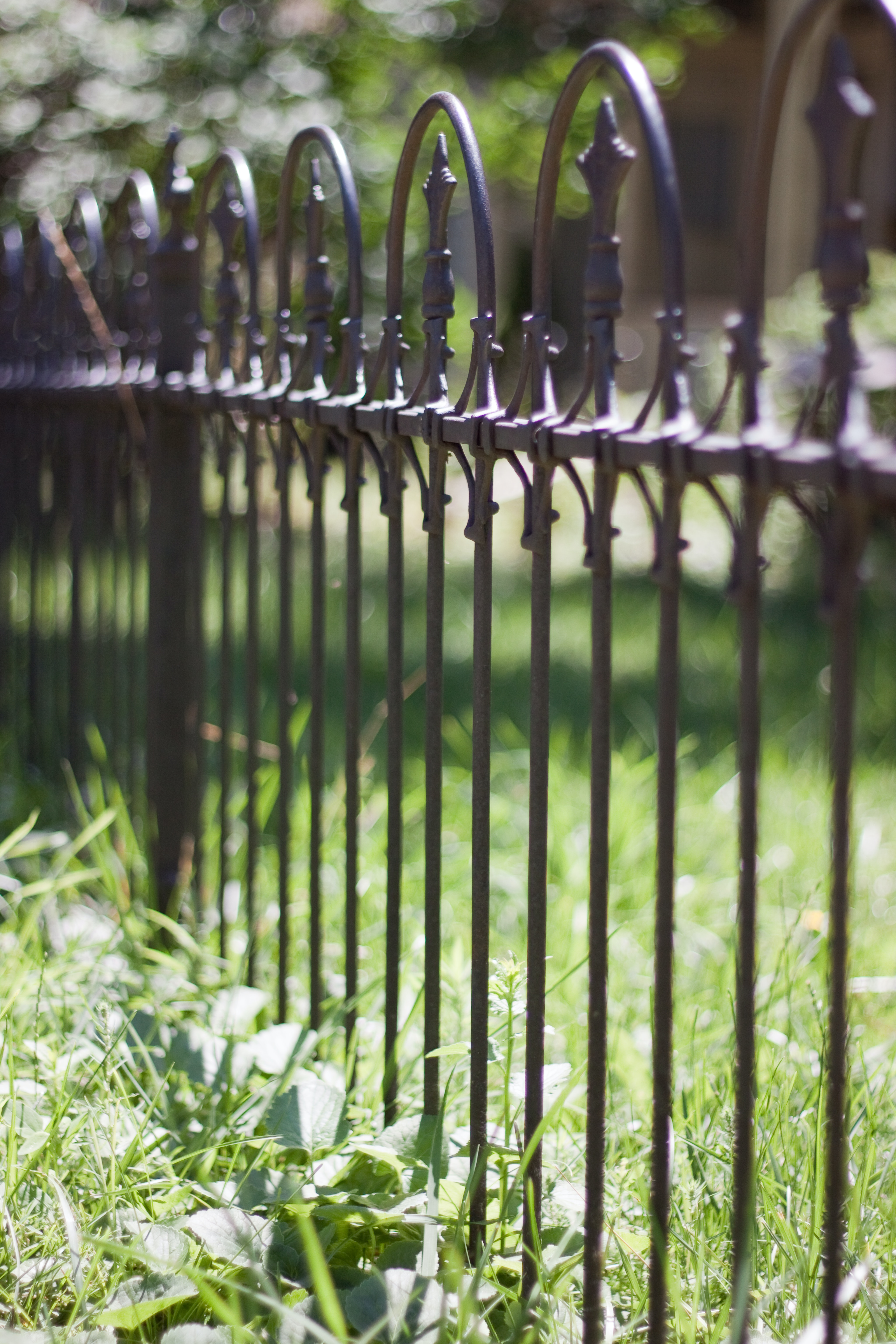 Free stock photo of fence, metal construction