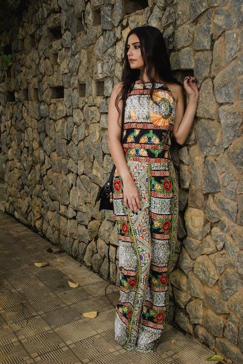 時裝模特兒, 石牆 的 免費圖庫相片