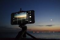 sea, sky, iphone
