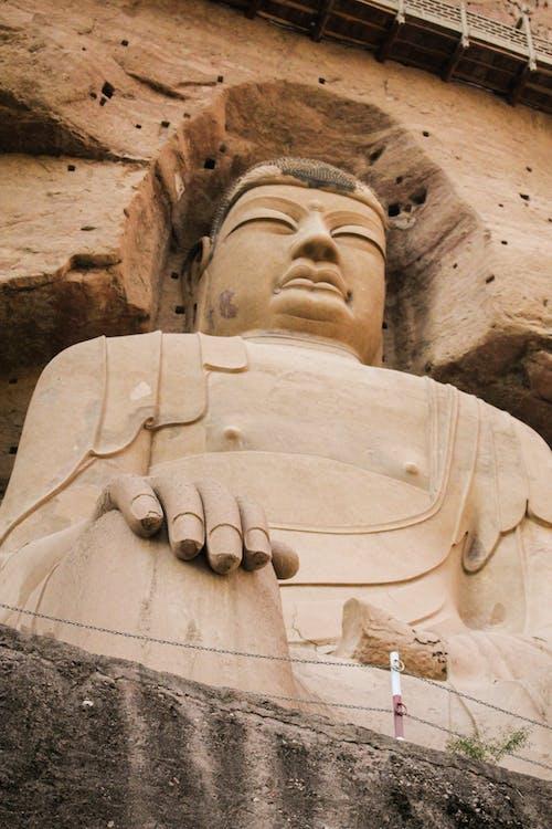 Ingyenes stockfotó antik, barlang, binling templom gansu témában