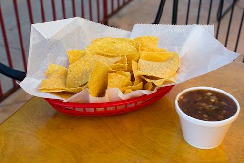 Kostnadsfri bild av dopp, mat, mexikansk, röd korg