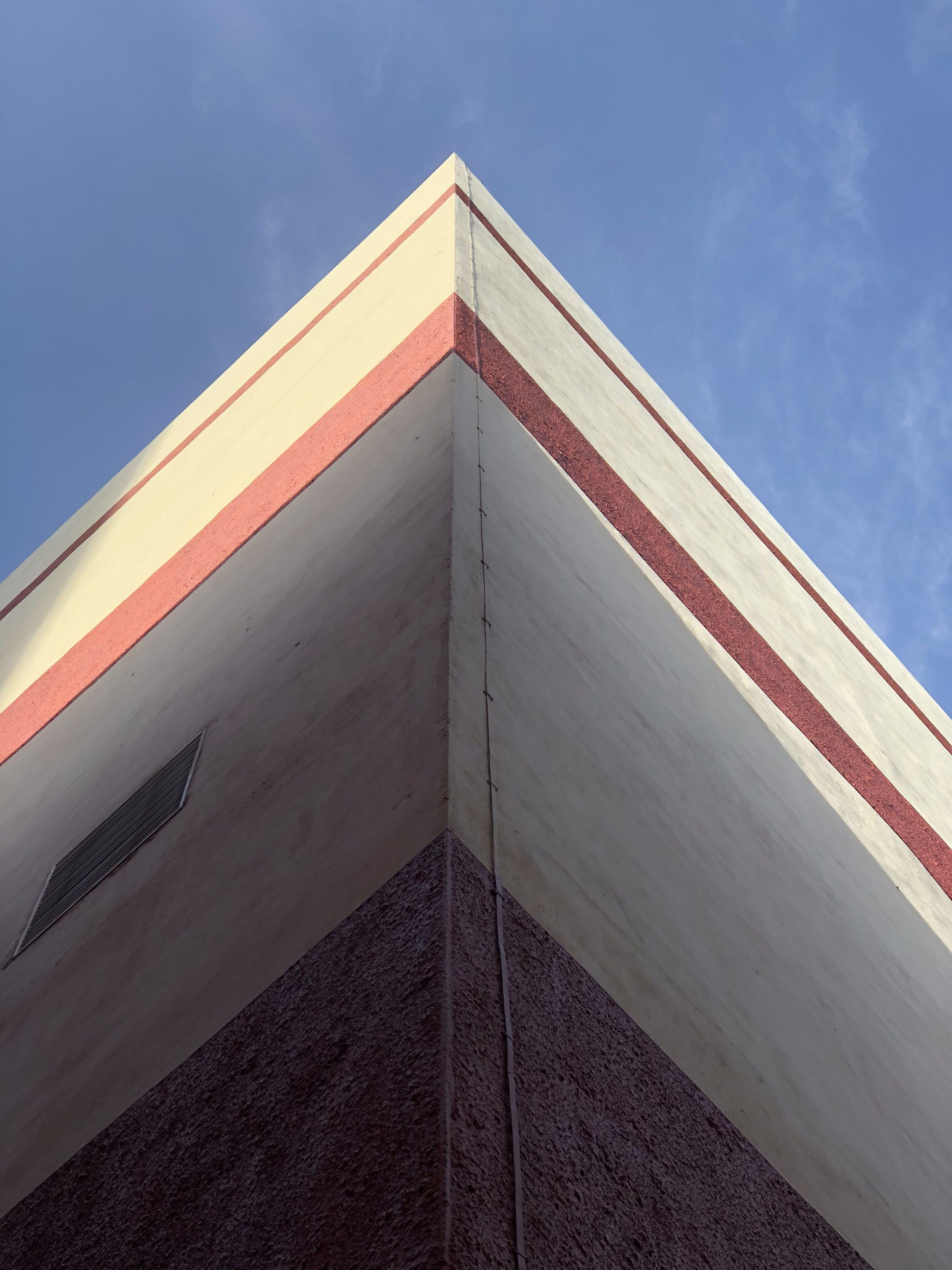 Free stock photo of blue sky, building, corner, sky