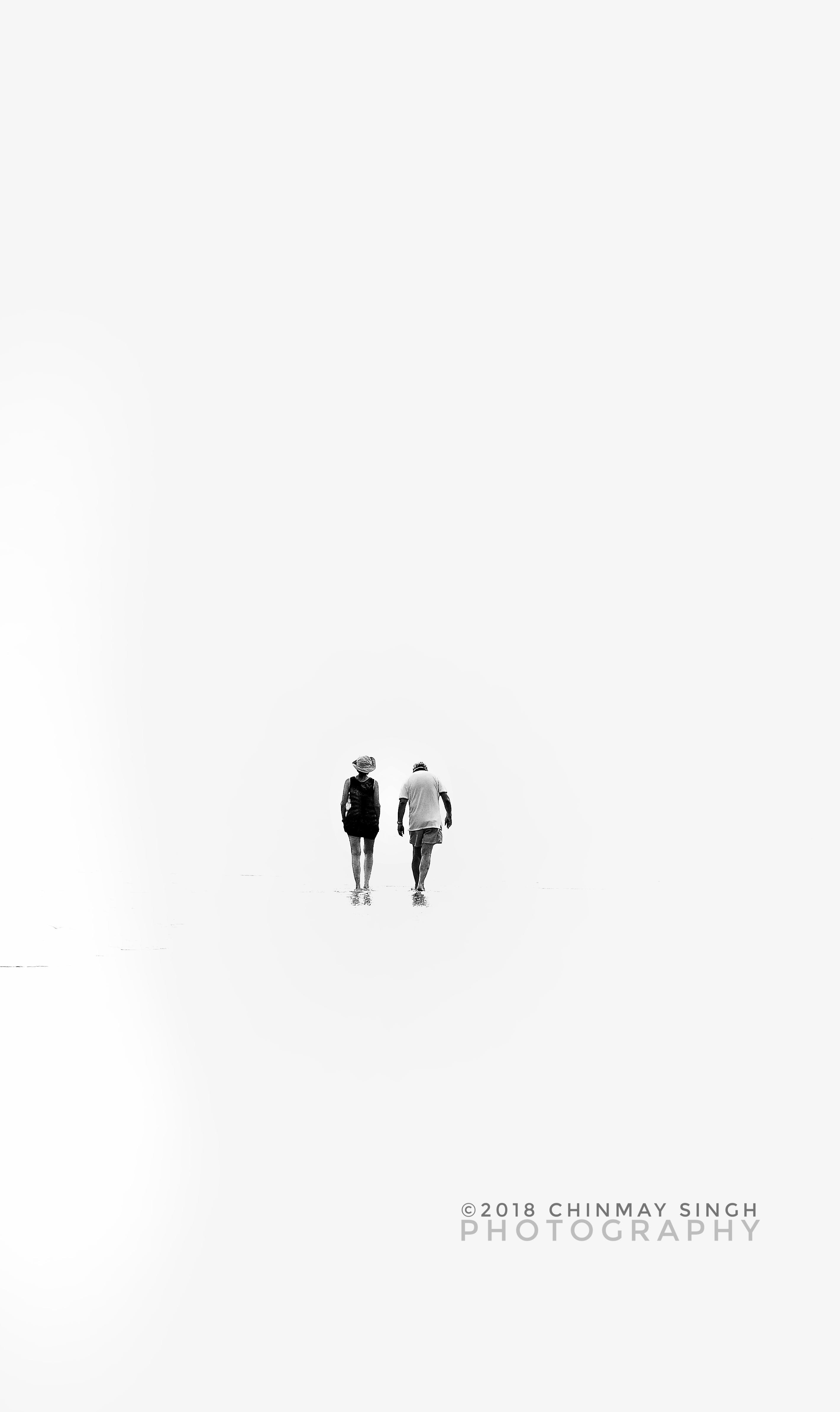 Free stock photo of couple walking