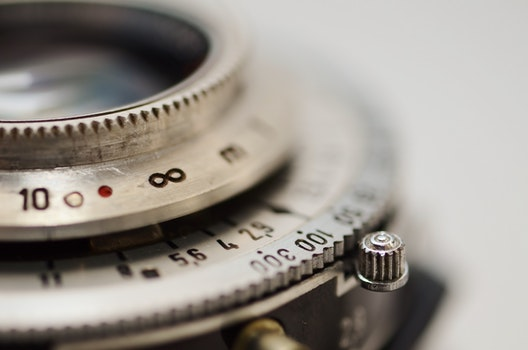 Free stock photo of camera, vintage, lens, old
