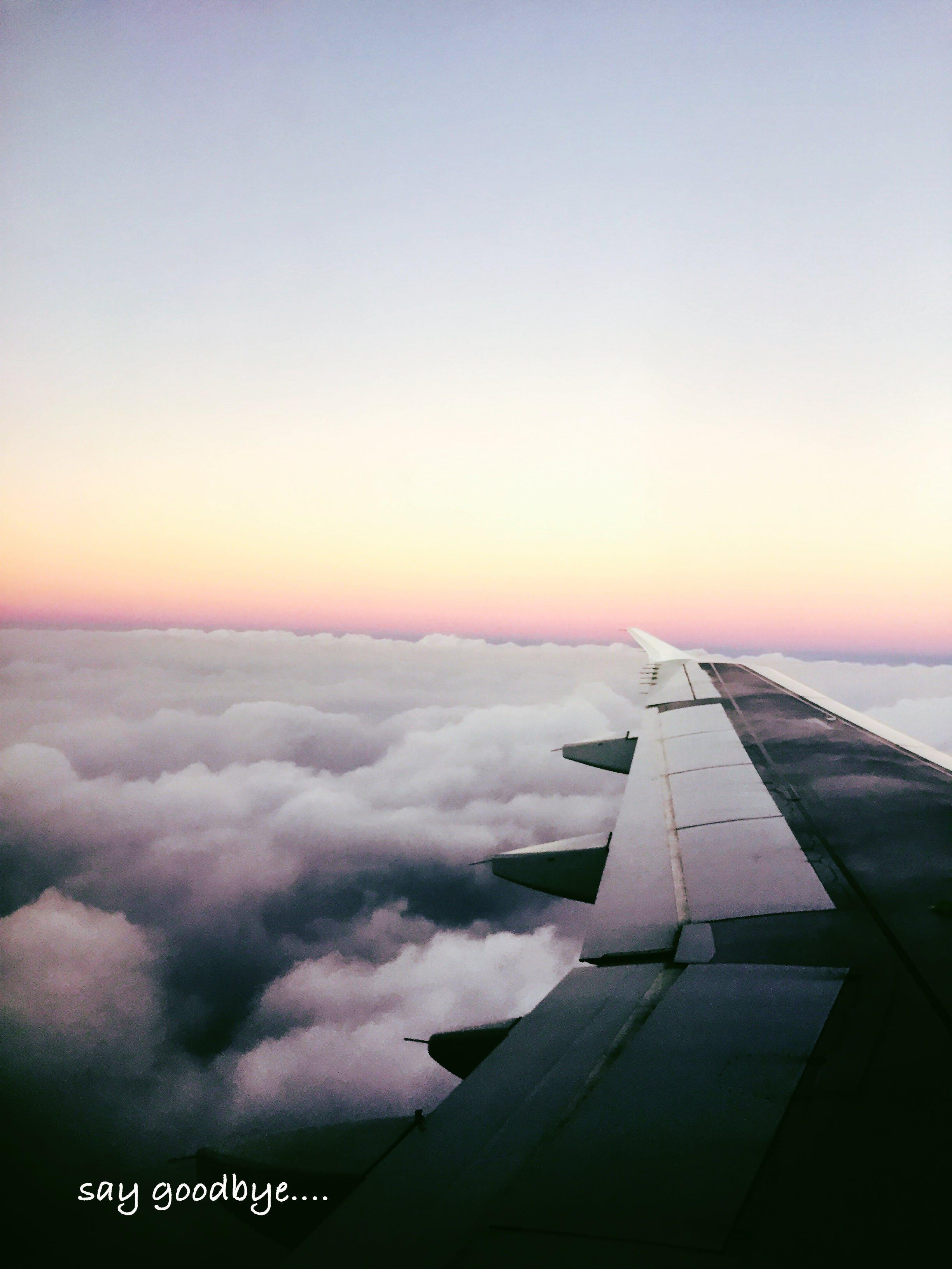 Δωρεάν στοκ φωτογραφιών με αεροπλάνο, σύννεφο