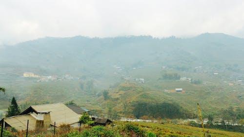 Gratis stockfoto met berg, country house, homestay, sapa
