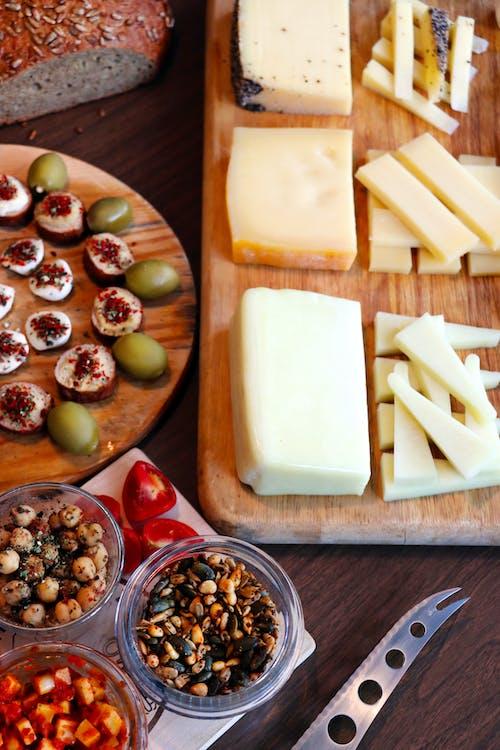 主菜, 乳酪, 健康食品 的 免费素材图片