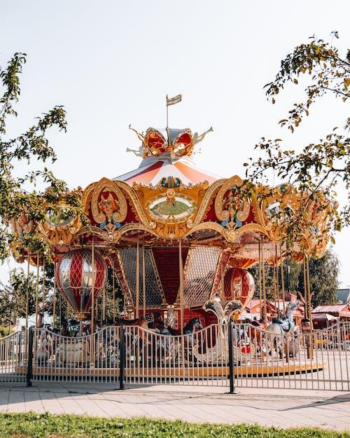 Carousel Ride during Daytime