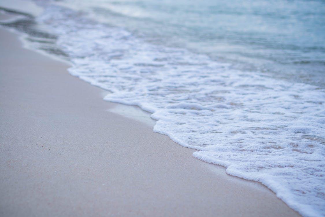 bølger, dagtimer, havudsigt