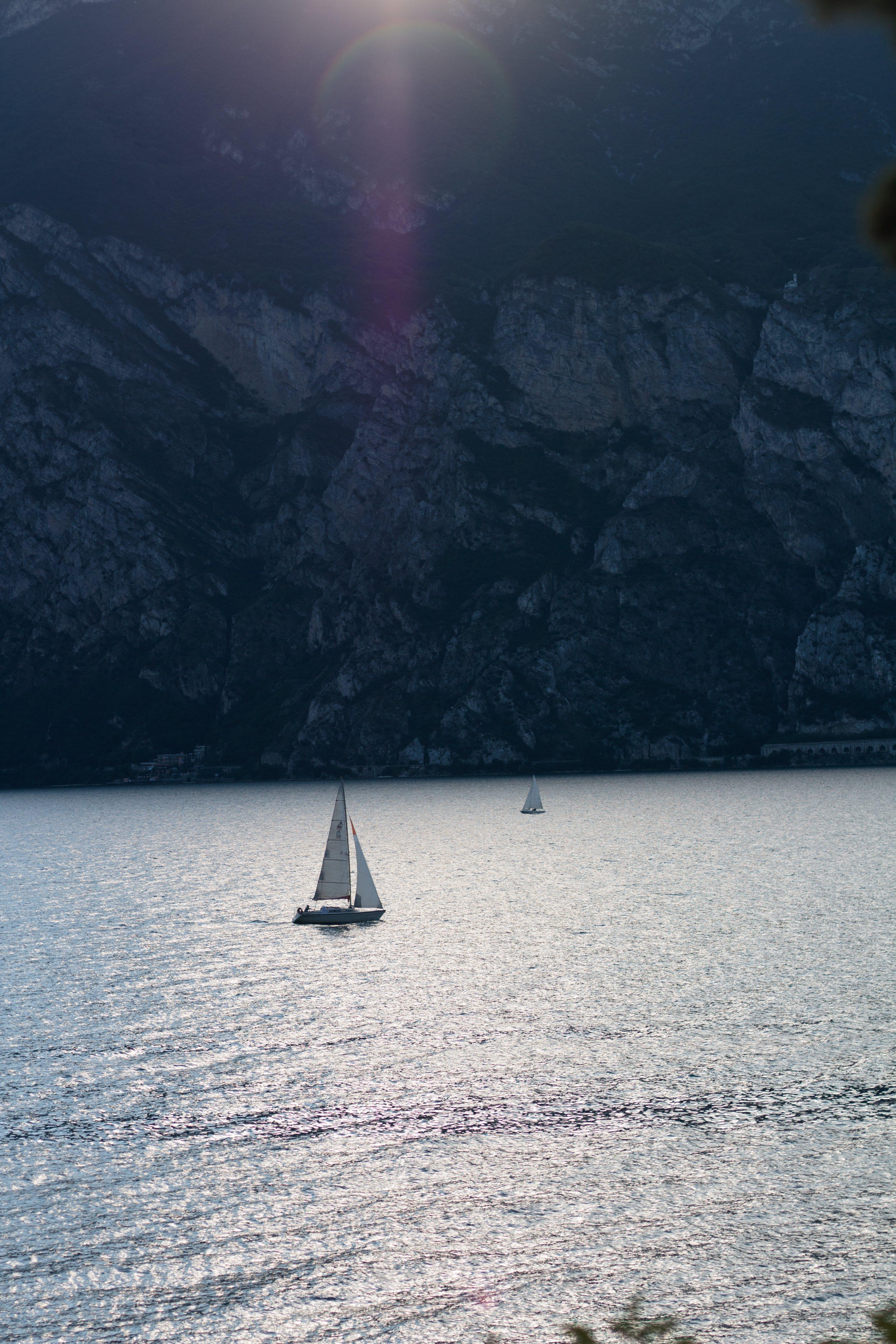 Free stock photo of blue, minimalistic, sea, ship
