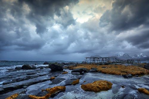 Darmowe zdjęcie z galerii z burza, dramatyczny, h2o