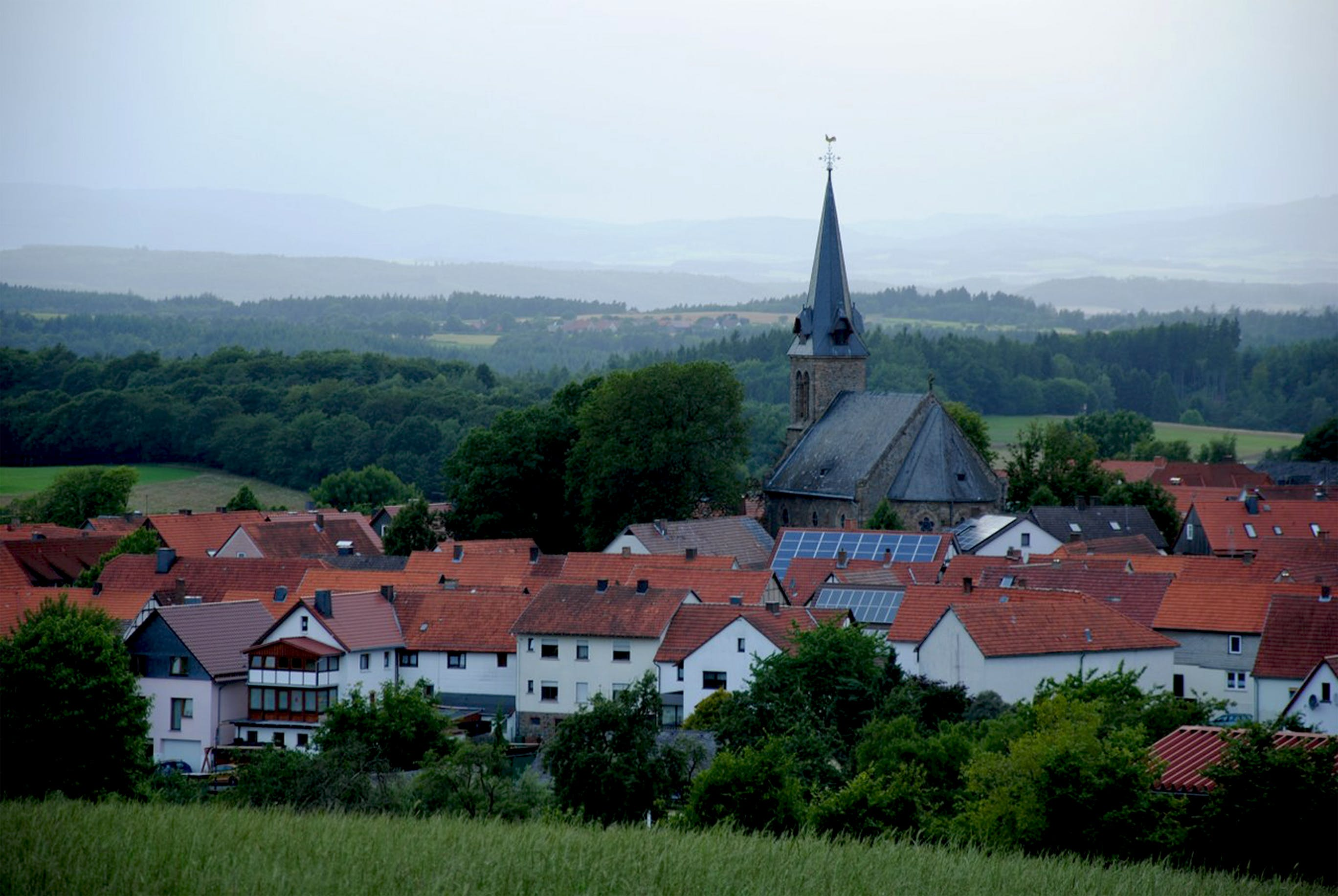 Free stock photo of building, buildings, church, Frankenau