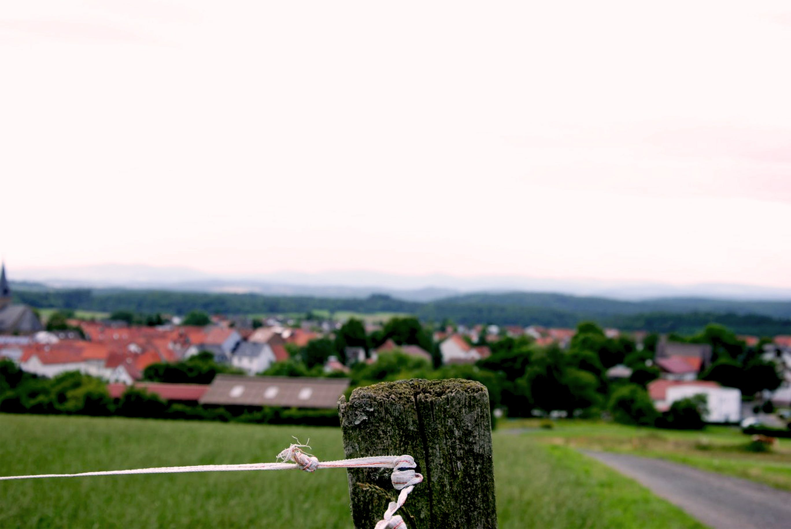 Free stock photo of fence, fencing, Frankenau, germany