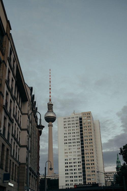 Kostenloses Stock Foto zu architektur, berlin, berliner fernsehturm