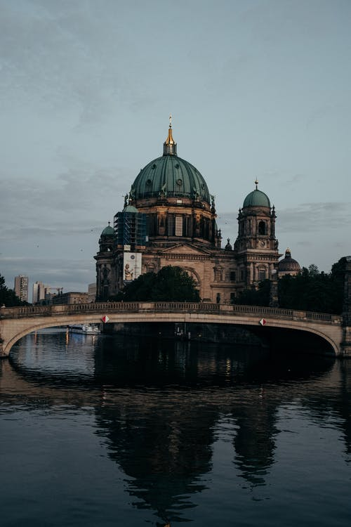 Kostenloses Stock Foto zu abend, architektur, berlin