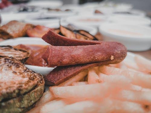 Foto profissional grátis de alimento, almoço, bacon