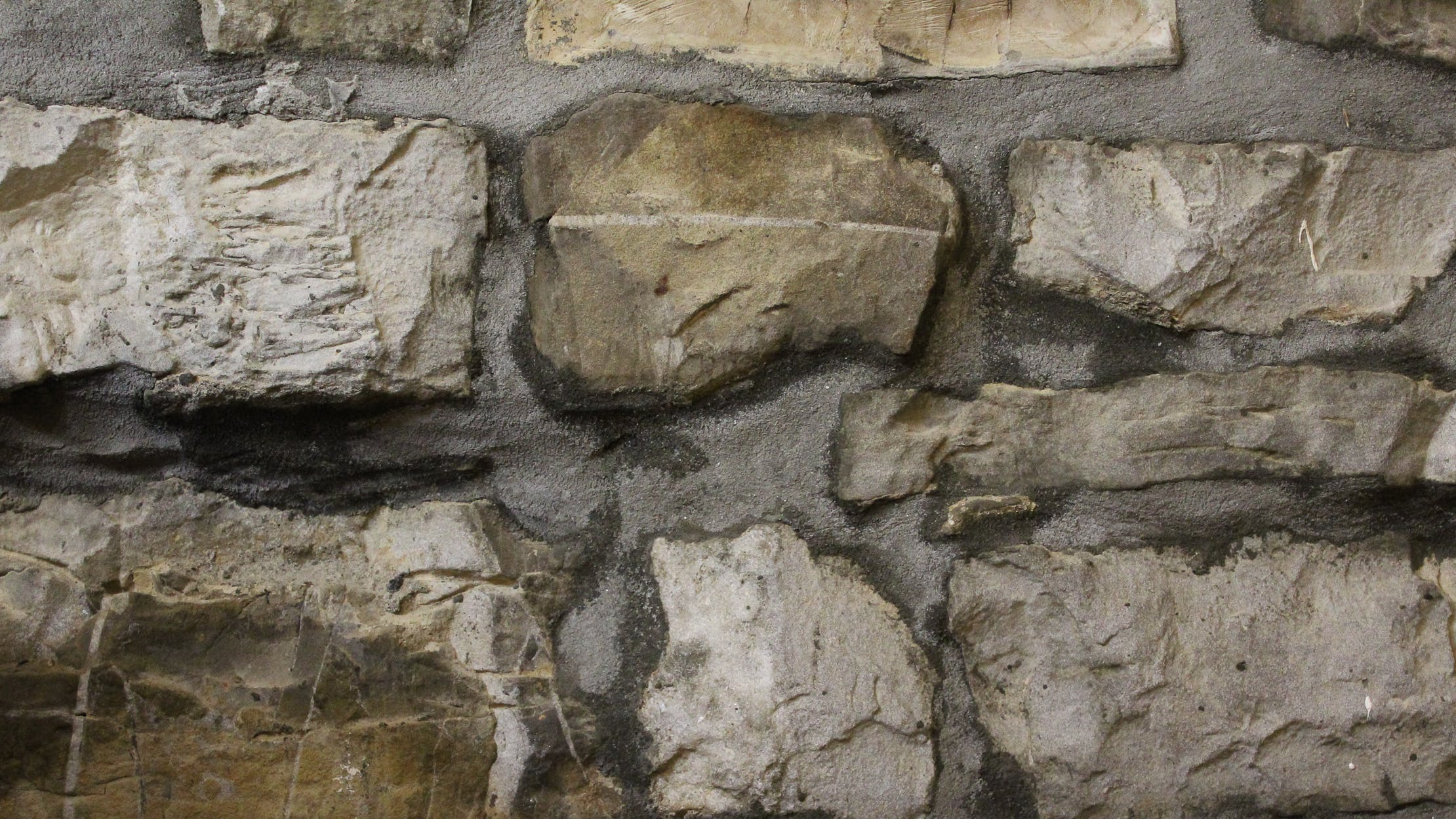 Free stock photo of brick wall, rock