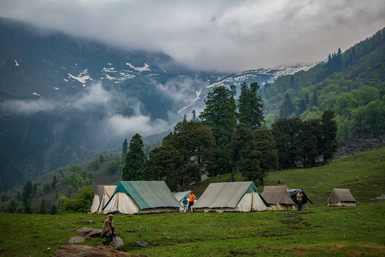 キャンプ, テント, レクリエーション