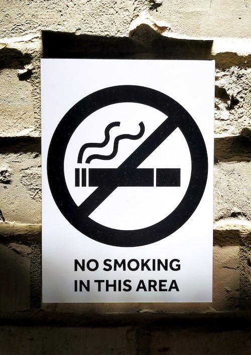 Free stock photo of 2021, letter, no smoking