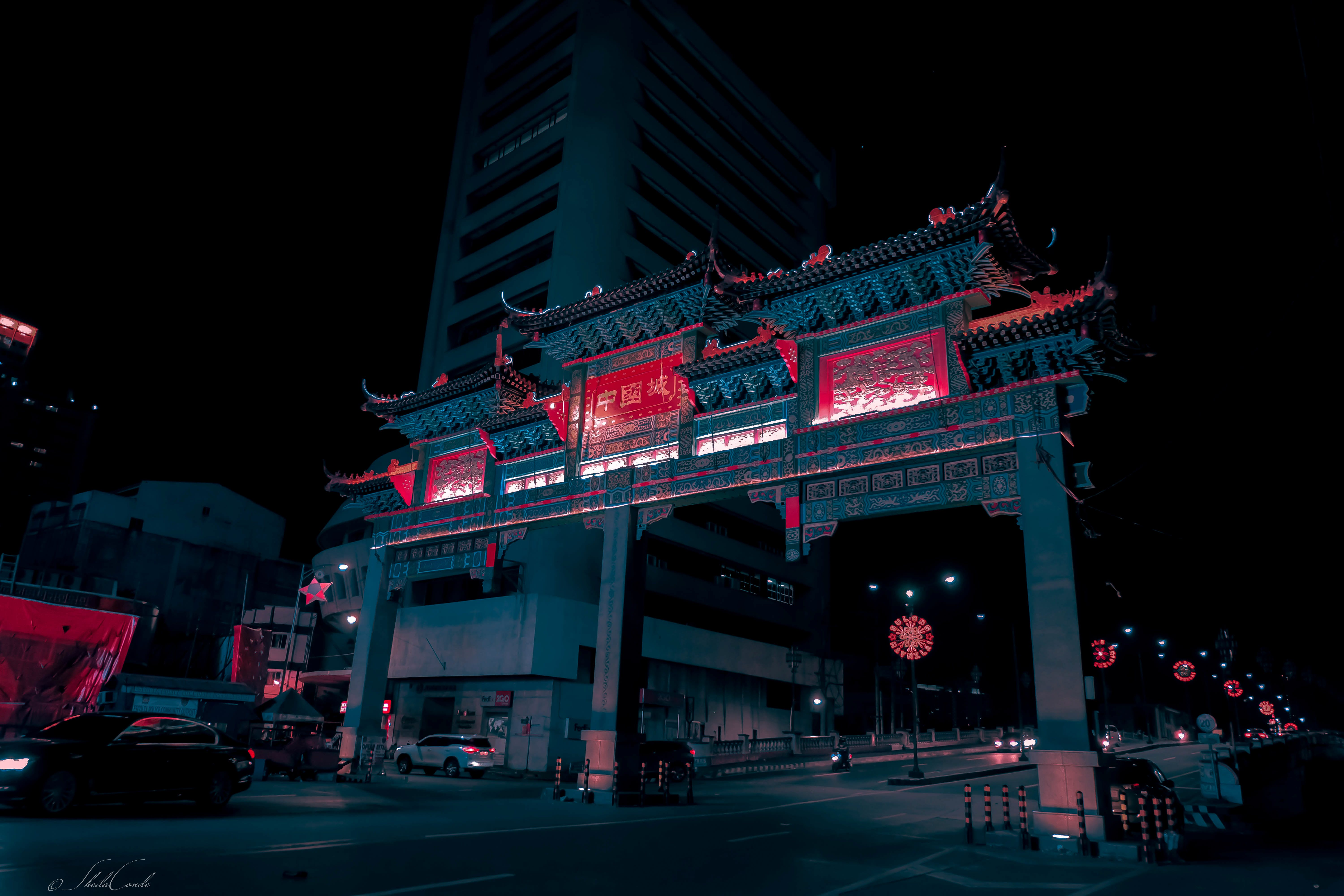 Free stock photo of architectural design, bridge, chinese architecture, city lights